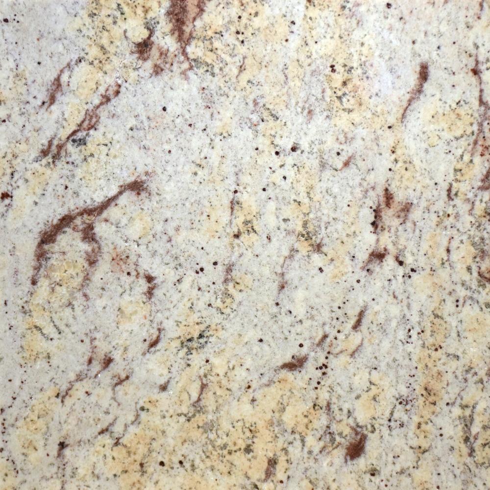 Granite Ivory brown poli