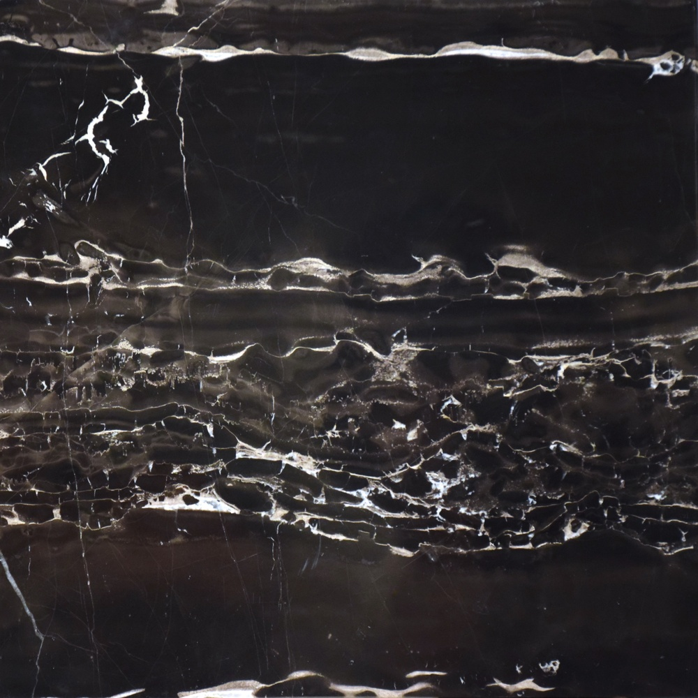 Marble Noir portor silver