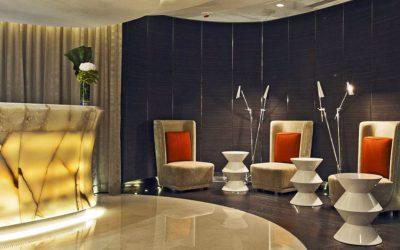 Dallage Ritz Carlton à Hong-Kong