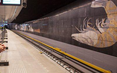 Fresques du métro d'Amsterdam