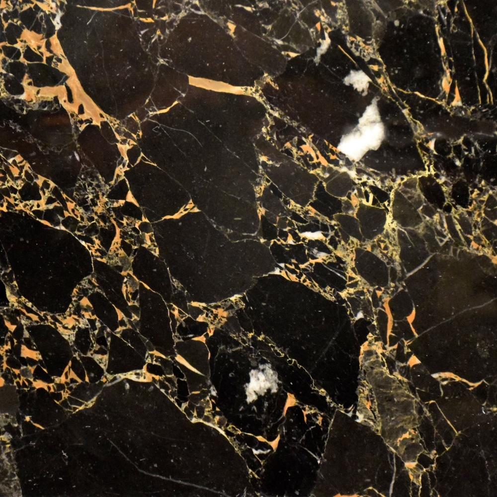 Marble Noir portor gold