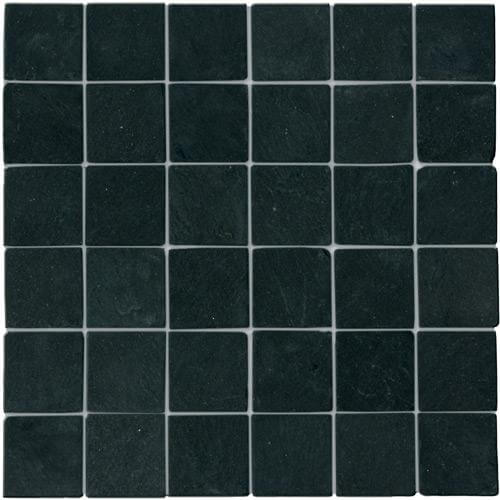 Mosaïque Noire 4.9x4.9x1 cm