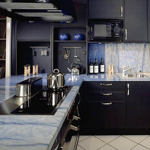 Kitchen granite worktops Azul macaubas