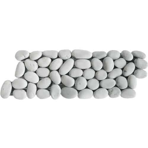 Pebbles Blancs bornéo 30x10