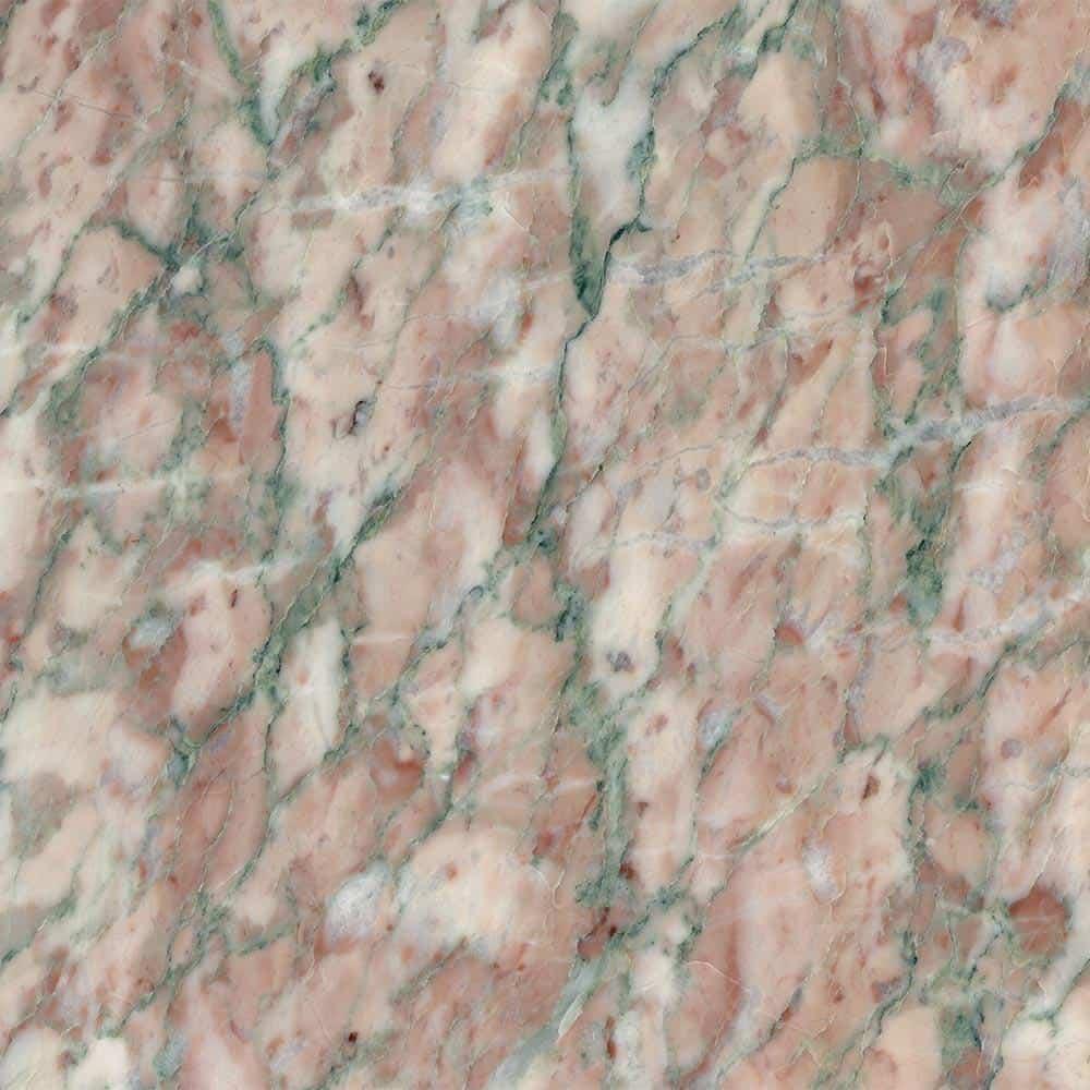 Marble Campan rose-vert