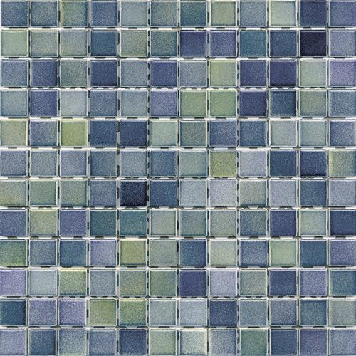Vitra tiles Color line mix 1 green-blue
