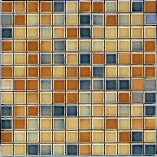 Vitra tiles Color line mix 3 d.tobacco-d.blue