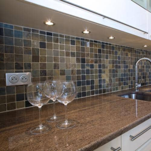 Kitchen granite worktops Ikon brown