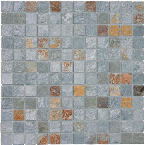 Mosaics Rustic green 2.3x2.3x1 cm