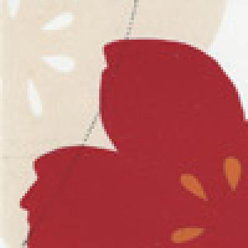 Vitra tiles Shiba red border