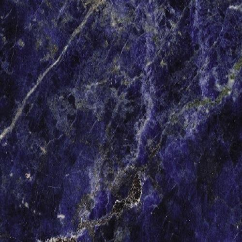 Marble Sodalite blue