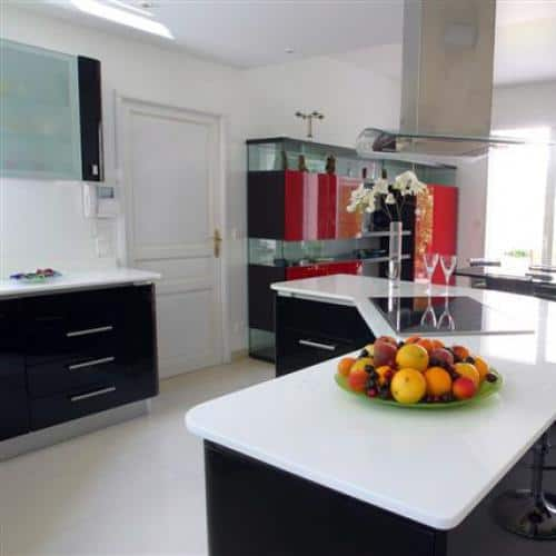Kitchen granite worktops Thassos cristallisé