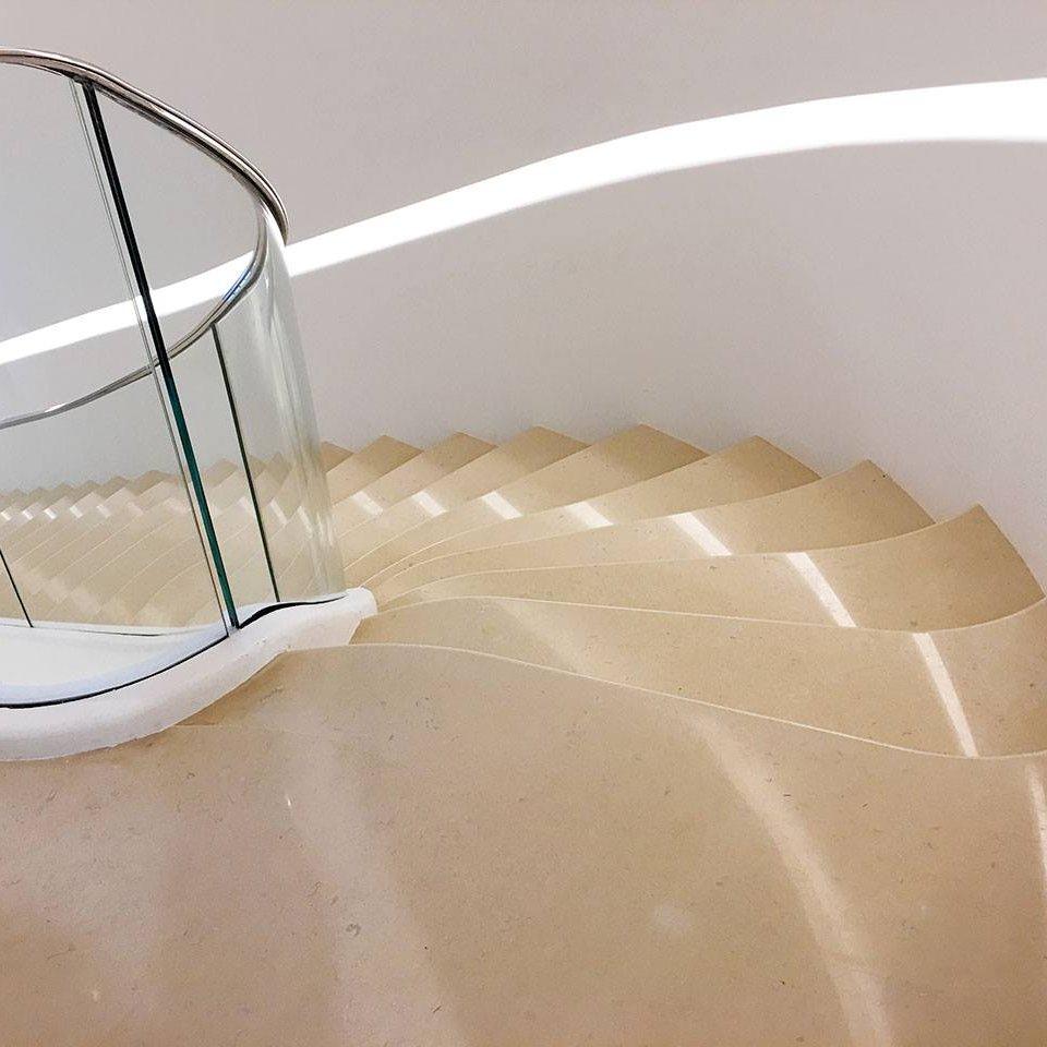 Escalier Marbre Dior 2