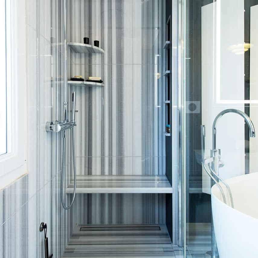 bianco salle de bain great salle de bain tapis with bianco salle de bain granit bianco antico. Black Bedroom Furniture Sets. Home Design Ideas