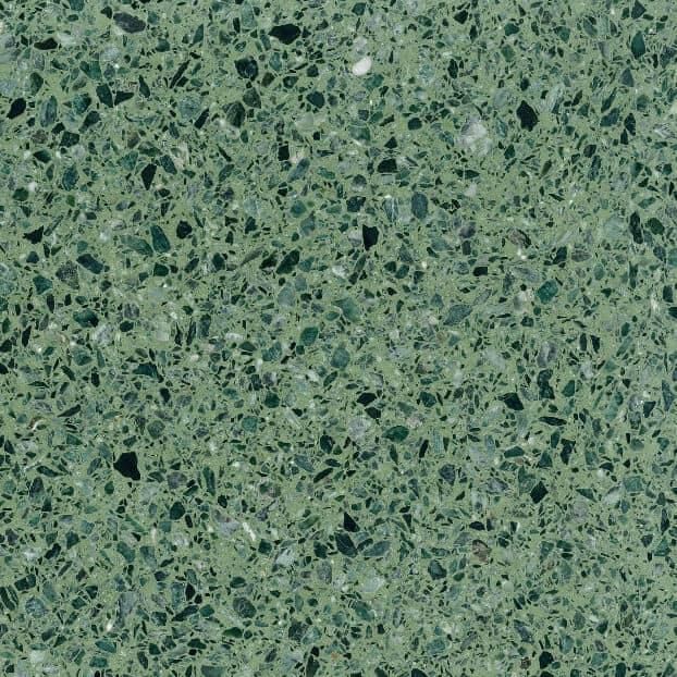 Terrazzo base ciment VERDE ALPI