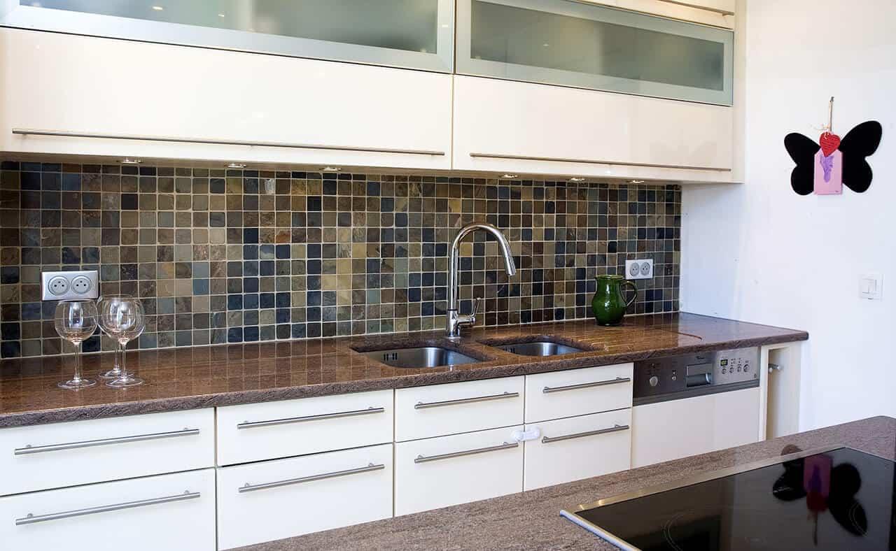 Kitchen granite worktops Ikon brown