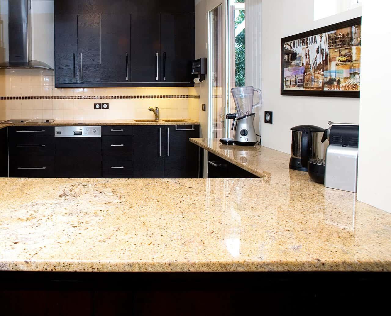 Kitchen granite worktops Madurai Gold