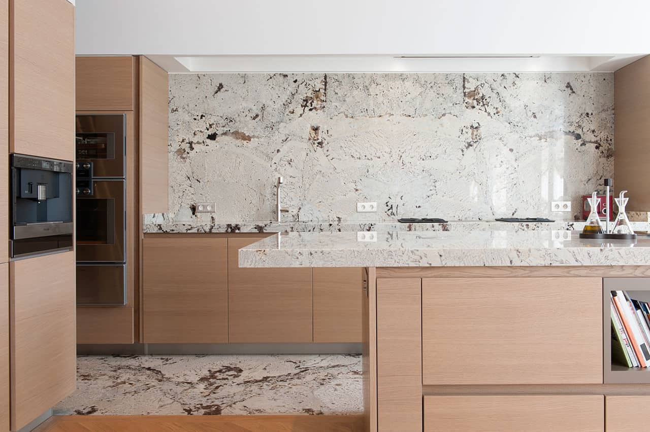 Kitchen marble workshop