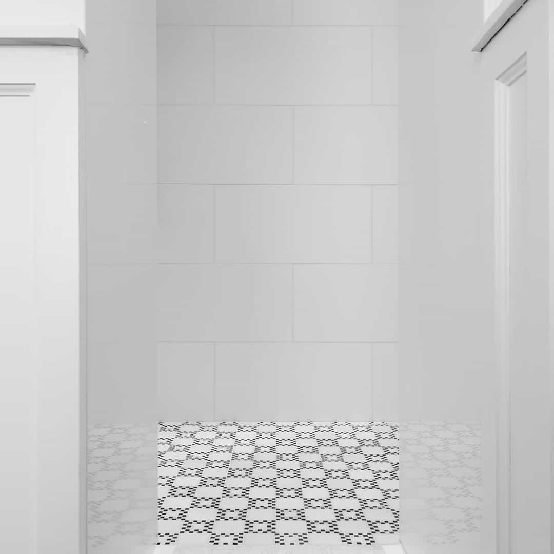 Salle de Douche en thassos cristalisé