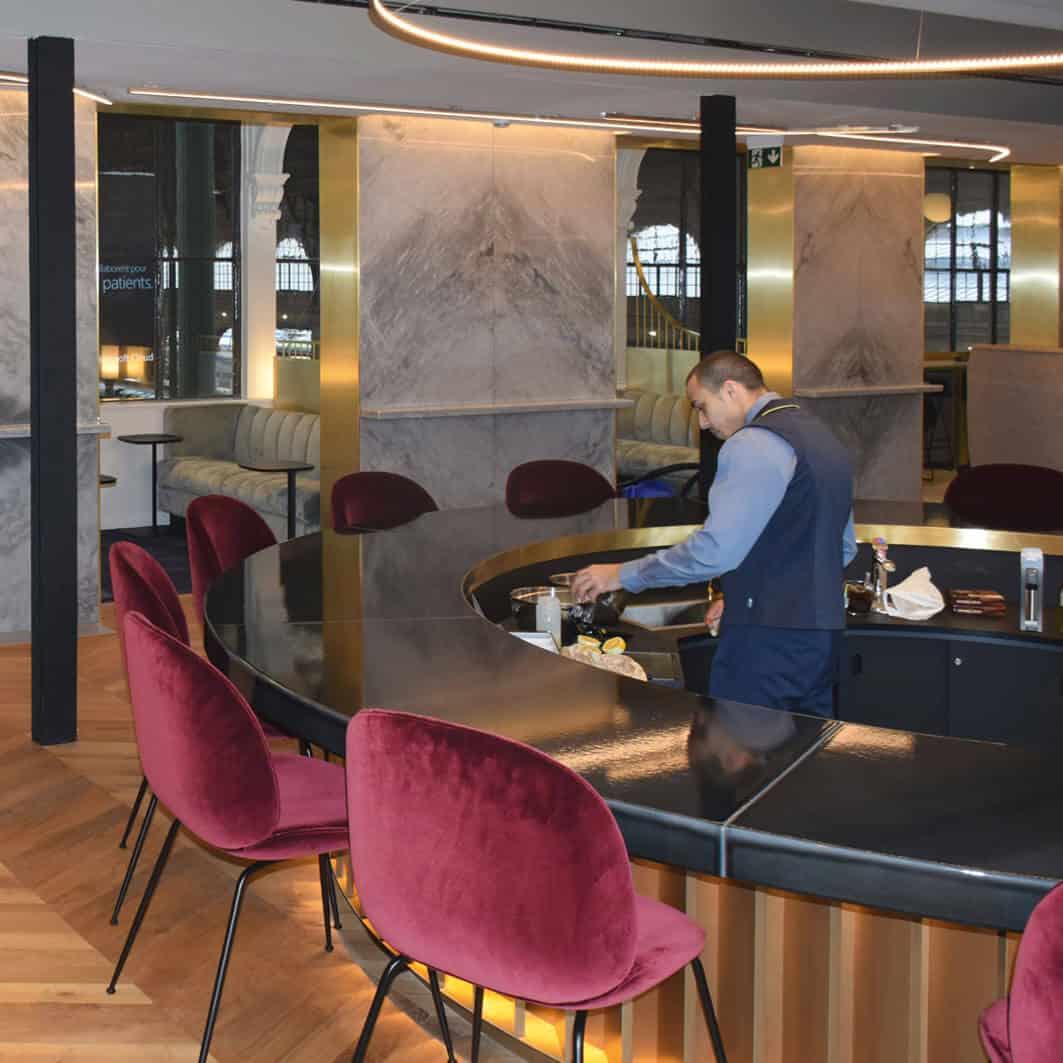 Eurostar business Lounge