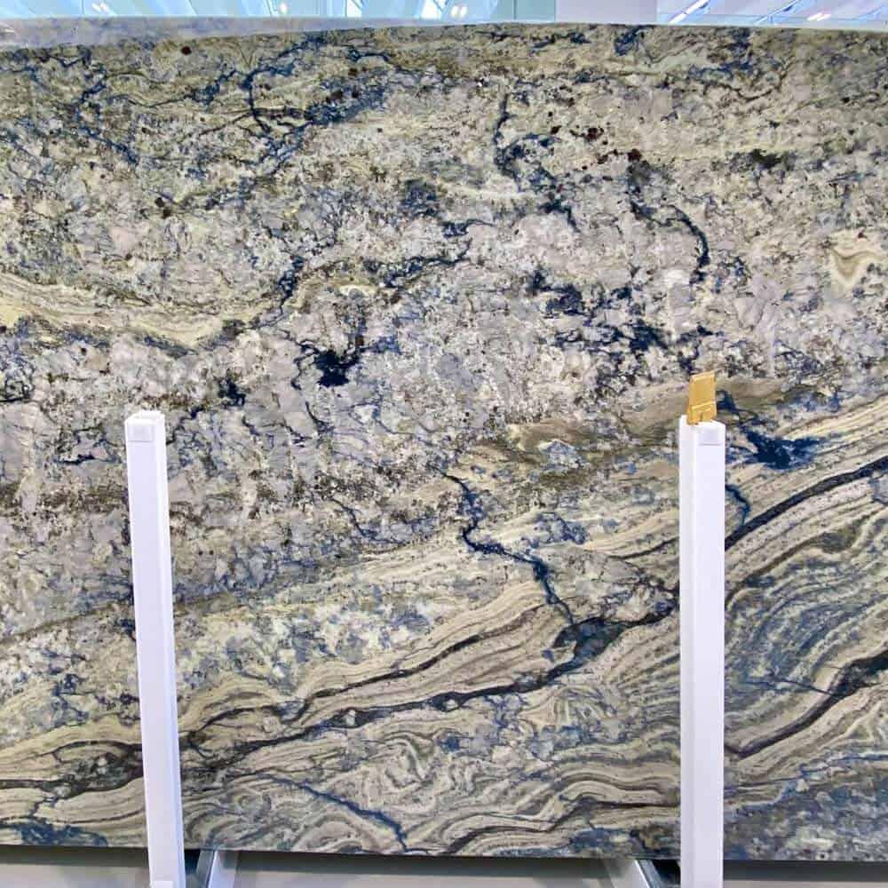 Granit Azzurite Poli - Épaisseur : 3cm