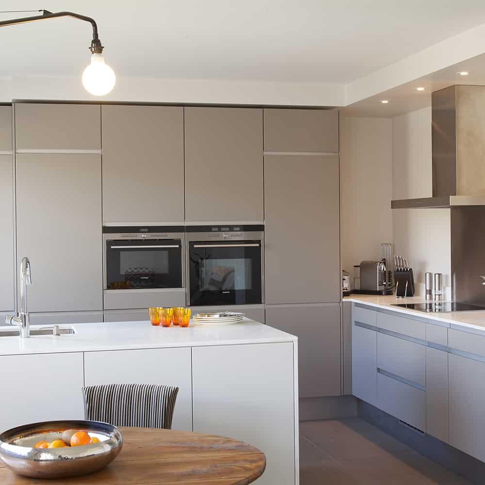 Plan de cuisine en Céramique Calacatta Satiné épaisseur 12mm sur mesure