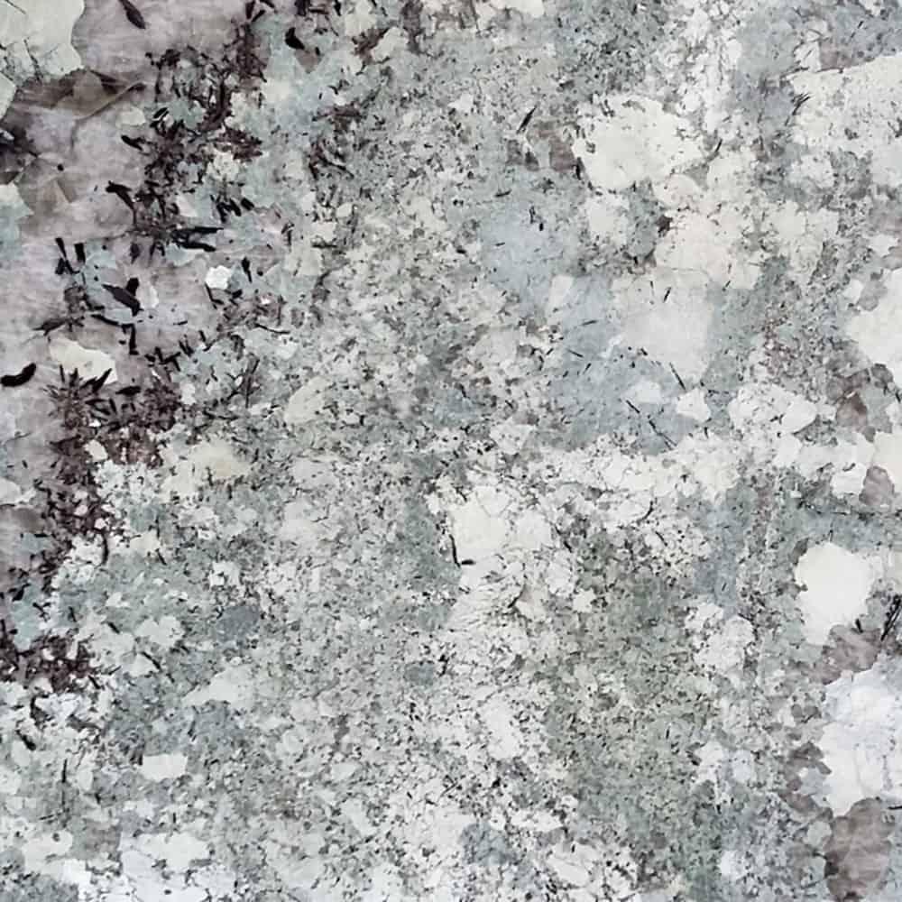 Tranche de granit Tourmaline
