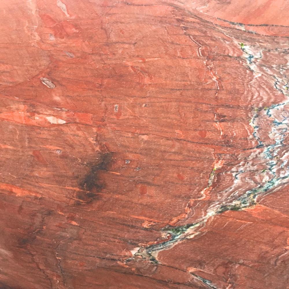 Quartzite Quartzite naturelle Rosso Pompeiano